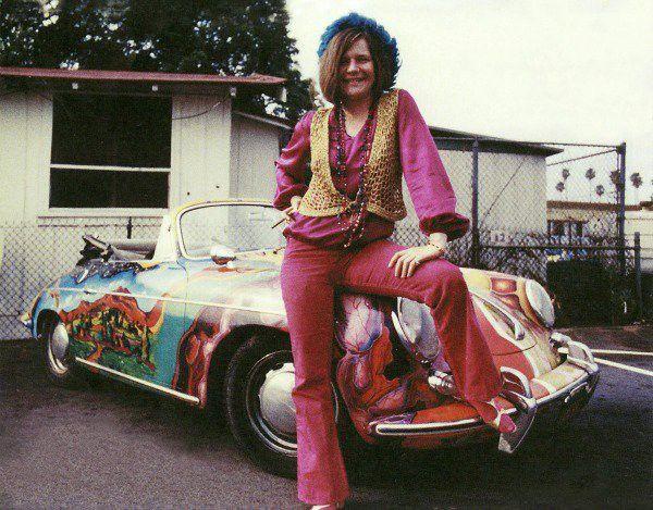 Joplin and her priceyPorsche