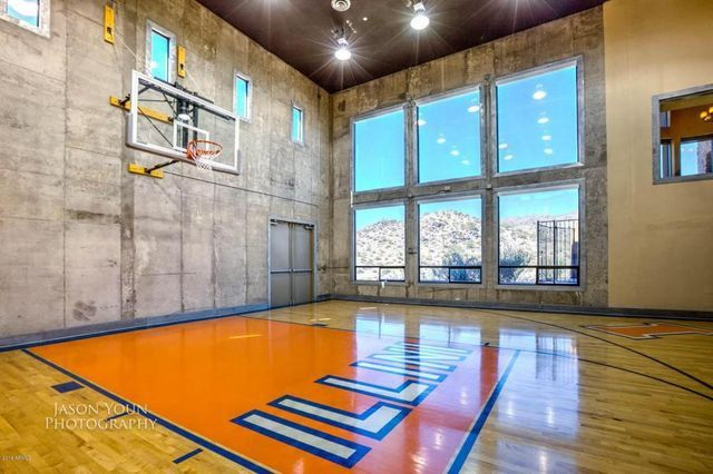 Hoop Dreams Seven Homes With Indoor Basketball Courts