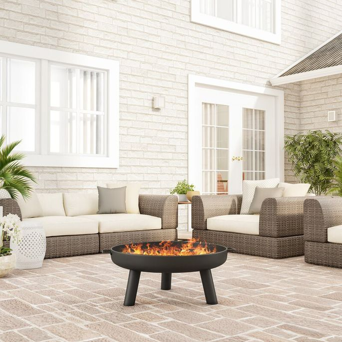 Cozy up to your own set of flames this fall.
