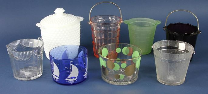 Group of ice buckets from Martha Stewart's collection to be auctioned off