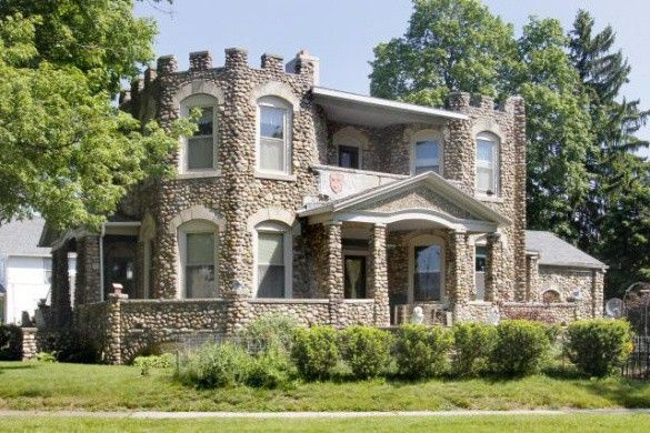 Royalty on a budget the penniman castle lists for 165k for Fieldstone houses