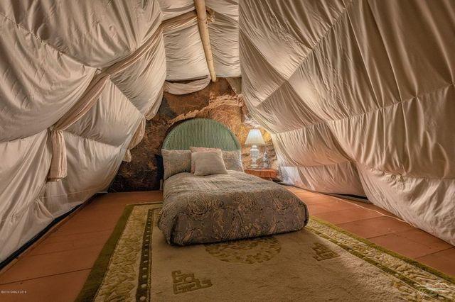 Loft bedroom Cave house Bisbee AZ
