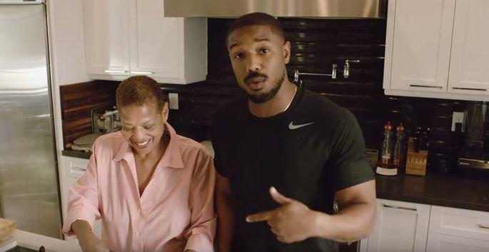 728d48bd0e5 Black Panther' Star Michael B. Jordan Shares Home With Parents ...