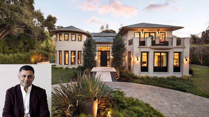 Nikesh-Arora-atherton-mansion
