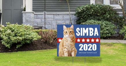 9 Presidential Lawn Signs That'll Make You (and Your Neighbors) Laugh