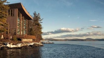 $16M Lakefront Mansion Is New Hampshire's Most Expensive Home