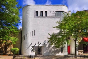 Restored Art Moderne by Andrew Rebori For Sale in Chicago