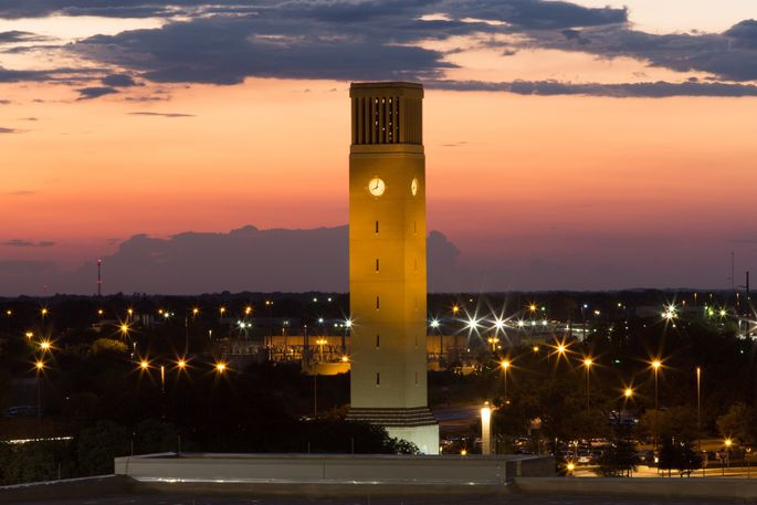 Albritton Bell Tower at Texas A&M University, College Station, TX