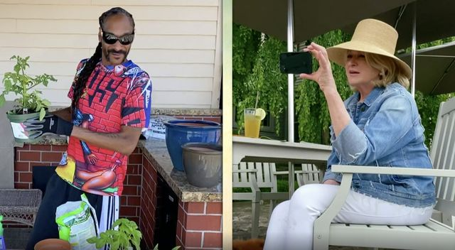Martha and Snoop Dogg