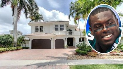 Former Dolphins RB Ronnie Brown Sells Florida Mansion for a Cool Million
