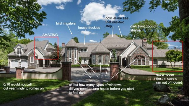Breakdown of a classic McMansion