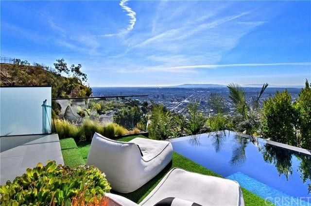 Views from infinity-edge pool