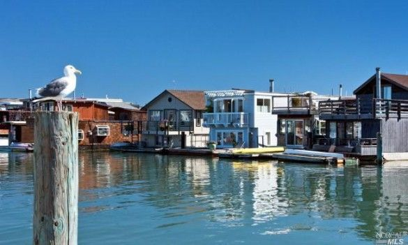 Living On The Dock Of Bay In Sausalito Houseboat Lists For 900k Realtor