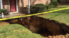'Help, a Sinkhole Is Swallowing Our Home!'