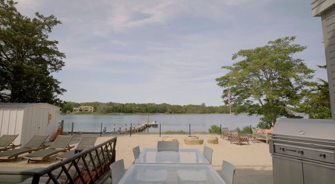 Michael Fulfree knows that a view like this should help a home sell quickly.