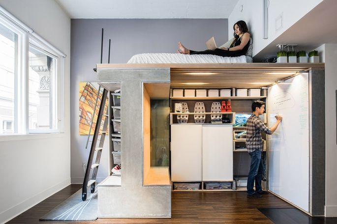 The Designer Shoebox Studio Apartments That Use Every