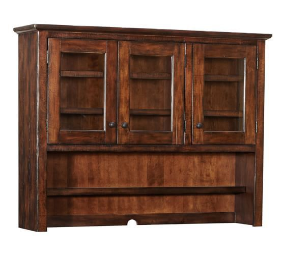 Rustic mahogany or alfresco brown finishes are the best granny chic matches.