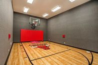 Marc Trestman's Mansion Has Bulls-Themed Basketball Court