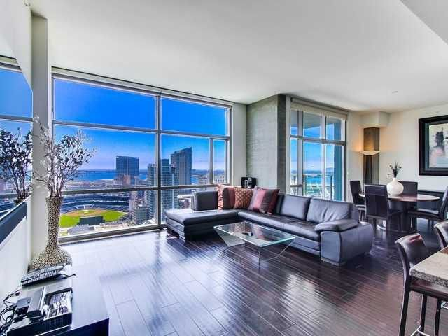 9 homes with amazing stadium views - One bedroom condos for sale in san diego ...