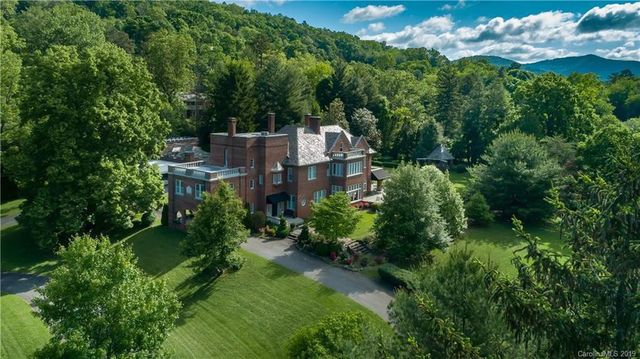Tree filled estate in Asheville NC