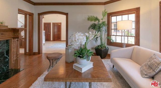 Living room in Gina Rodriguez home