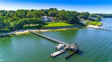 Custom-Built $45M Waterfront Estate in Great Neck Is Most Expensive New Listing
