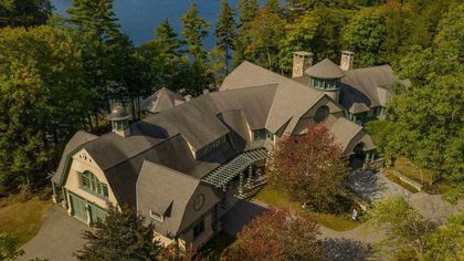 New Hampshire's Most Expensive Home Is a Spectacular $19.5M Lakefront Estate