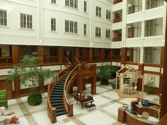 Inside The Longaberger Building