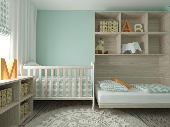 Nursery With Vertical Storage