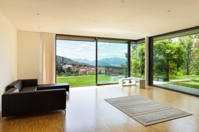 A great view is a major asset—and you can make the most of it with floor-to-ceiling windows.