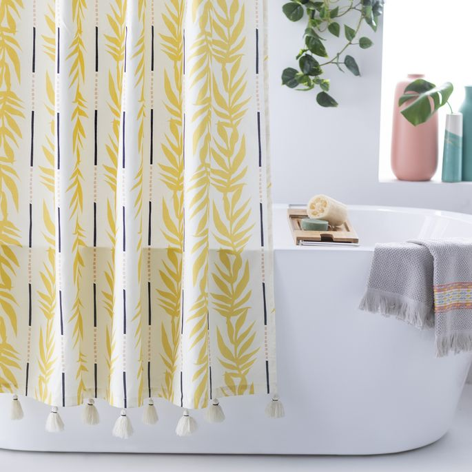 Brighten up your bathroom with this beauty.