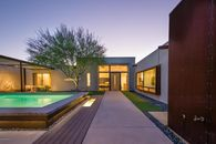 Contemporary Courtyard House in Tucson Lists for $599K