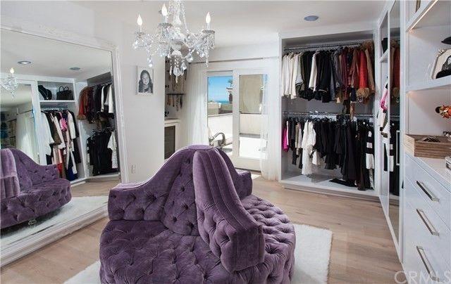 Kelly Dodd's closet