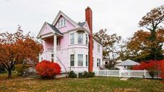 Michigan's 'Pink Lady' Mixes 19th-Century Charm With Millennial Pink Exterior