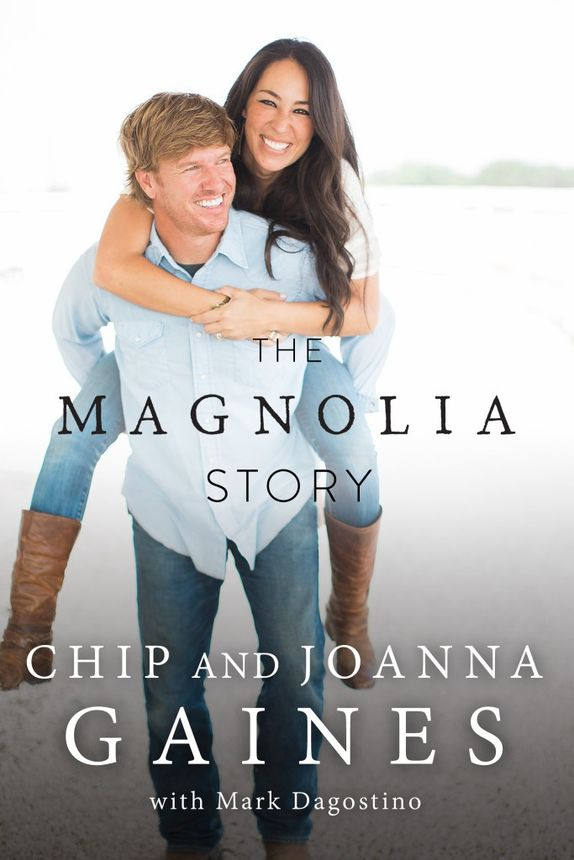"""Chip and Joanna Gaines' new book, """"The Magnolia Story"""""""