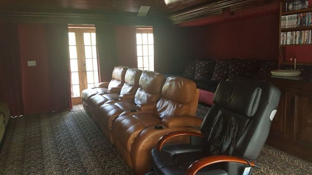 Before / Mandeville Canyon home theater