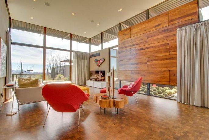 A Desert Dream: This Scottsdale Modern Melds Into The