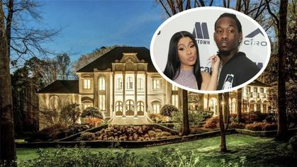 Cardi B and Offset Give Each Other an Atlanta Mansion for Christmas