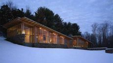 An Author's Modern Retreat in New York Is Impossible To Put Down