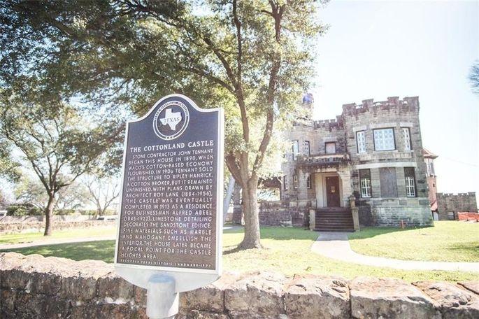 Cottonland Castle is a historic landmark building.