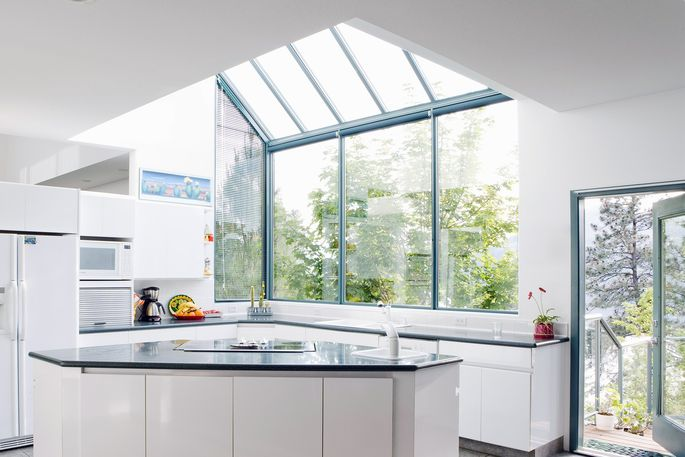 Renovate your kitchen without knocking down a wall for Kitchen without wall units