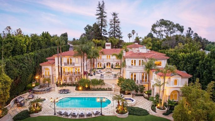 Most Expensive House In La >> 50m Regal Compound In L A Is Most Expensive New Listing