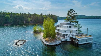 Welcome Home! New Hampshire's Welcome Island Is a Private, Gorgeous Retreat