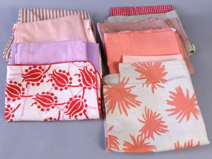 Napkins, placemats, tablecloths, etc., from Martha Stewart's collection