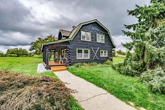 Maine log cabin
