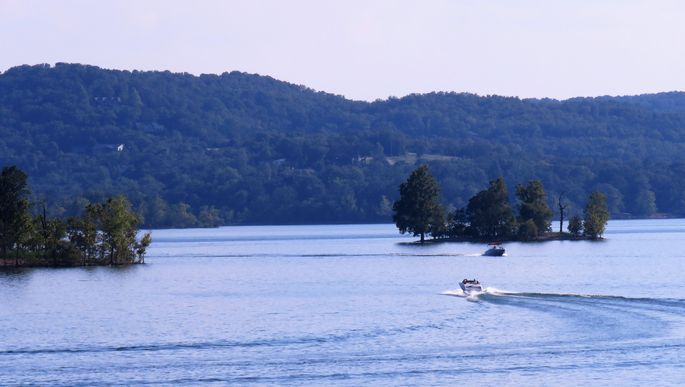 Table Rock Lake in Branson, MO
