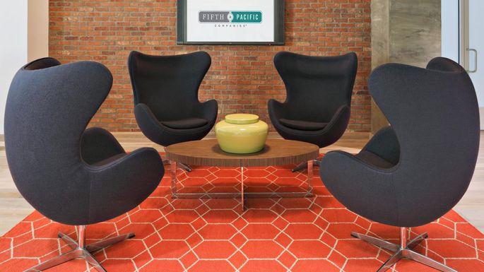 Arne Jacobsen's egg chair design