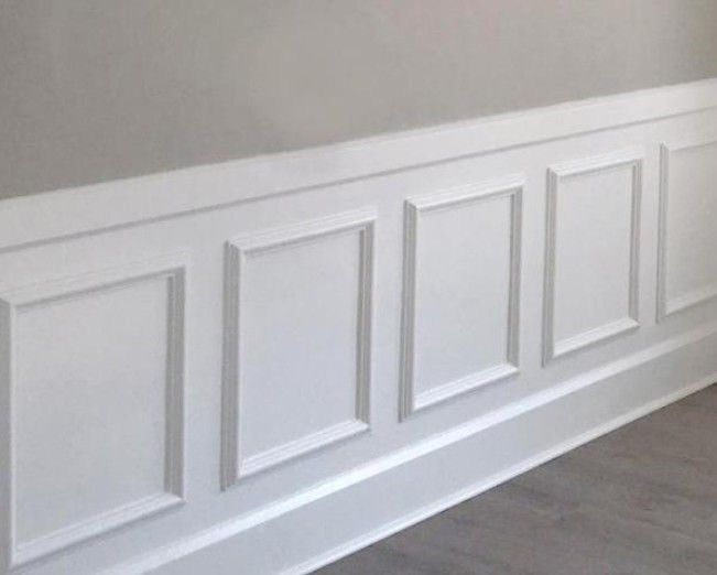 These Ekena Millwork panels cost about $15 each.