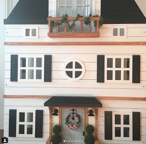 """Fixer Upper"" dollhouse"