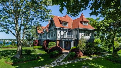 Buy Connecticut's Rogers Island and Its Updated Tudor Mansion for $25M